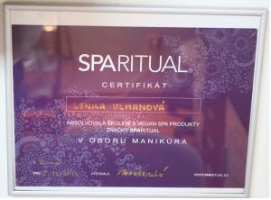 Pedikúra Kyjov - školení značky Sparitual